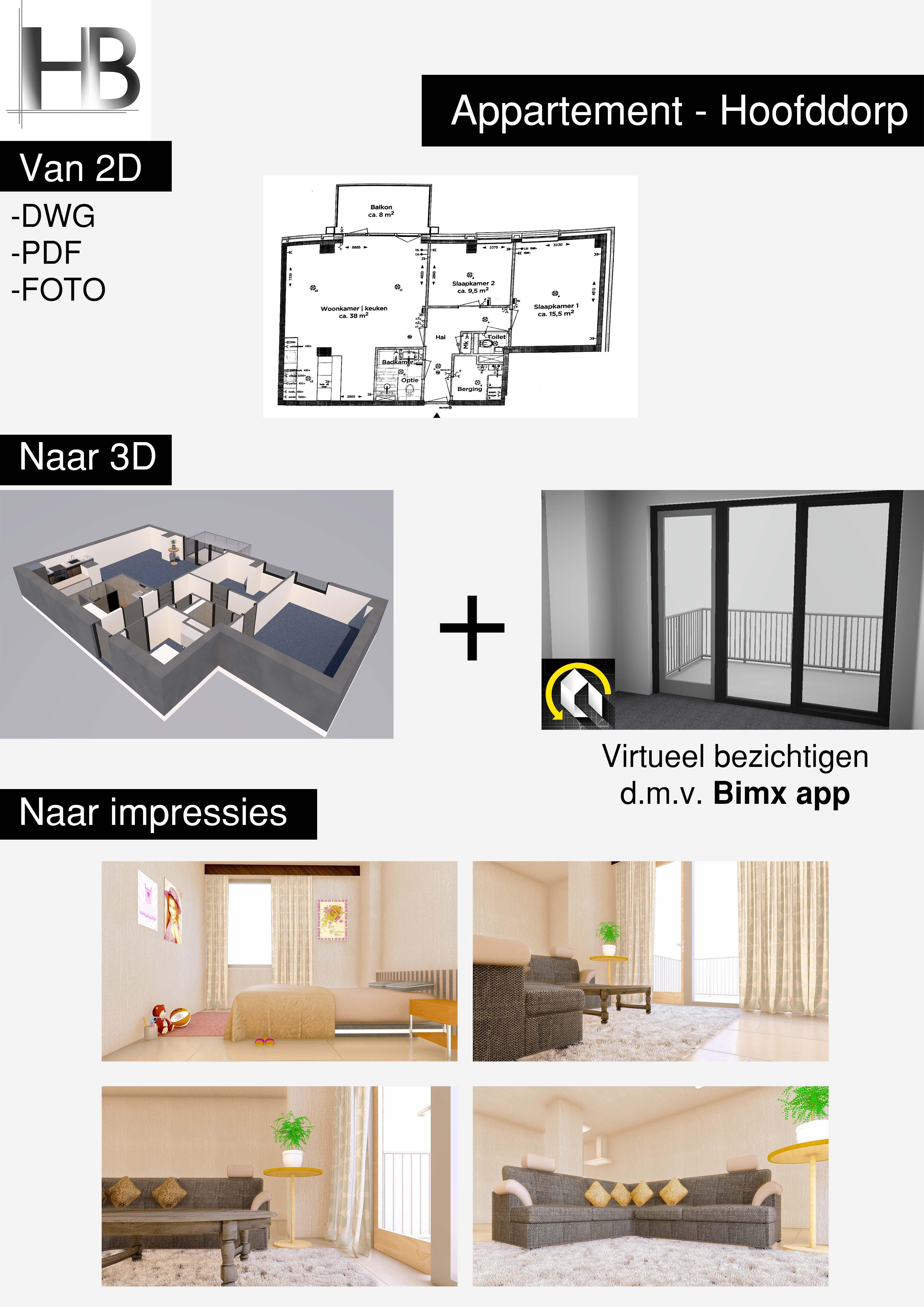 Appartement Hoofddorp