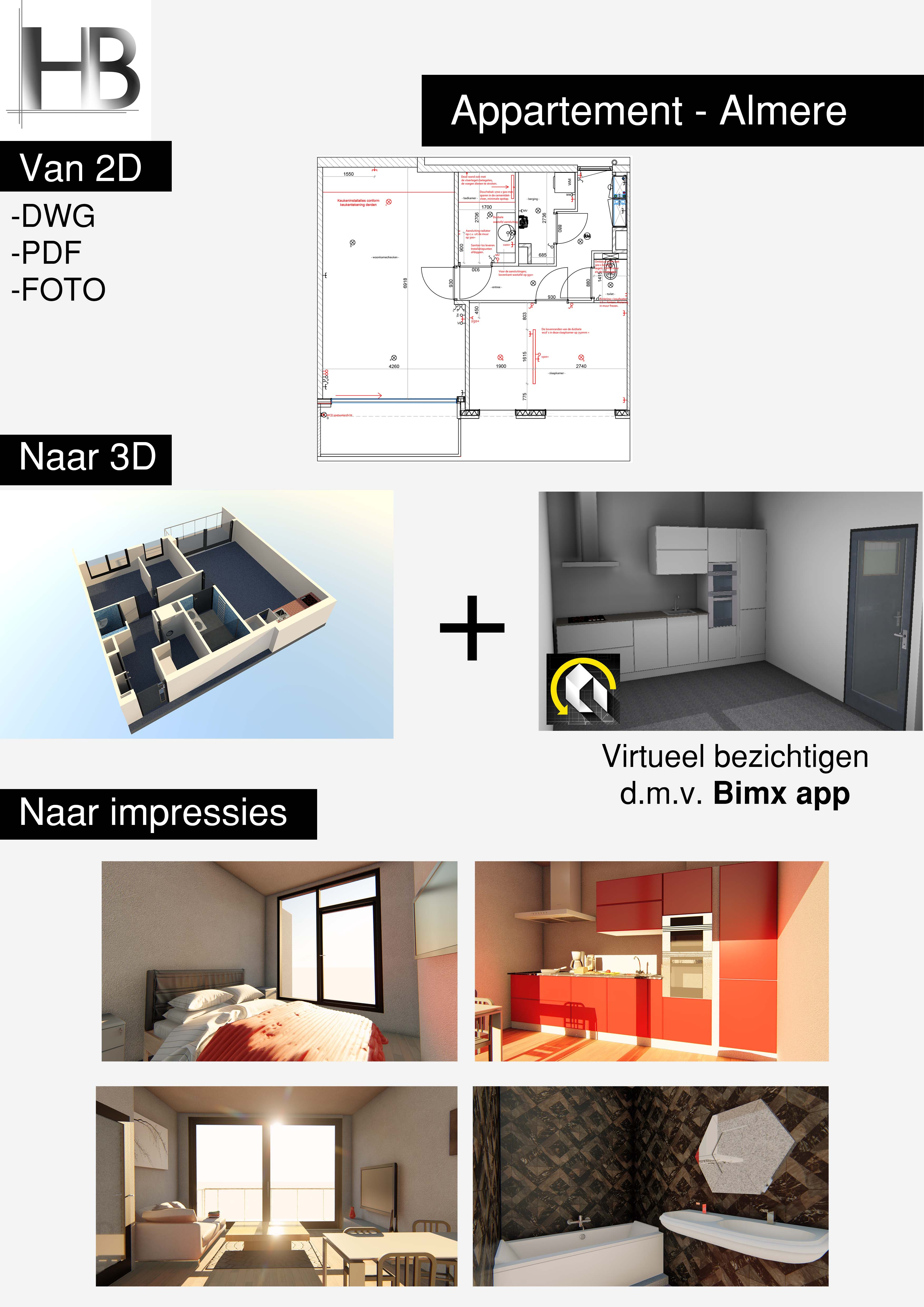 Appartement Almere